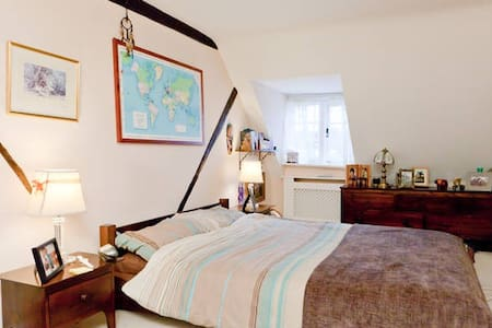 Room (or 2) in Historic Town House  - Casa