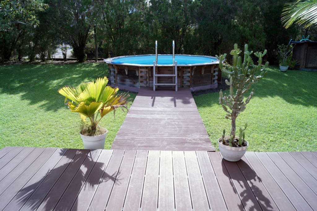 Villa les jardins de gabrielle villas louer petit for Piscine hors sol guadeloupe