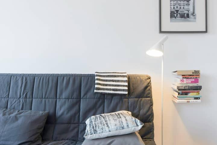 Scandinavian style, 3 bedrooms, great location