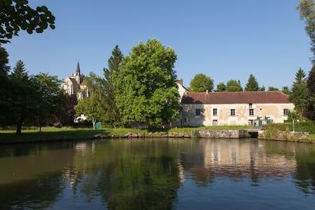 Chambre Orange au Vieux Moulin - Mareuil-sur-Ourcq - Bed & Breakfast