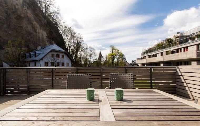 TERRACE APARTMENT near FestivalArea - Salzburg - Apartment