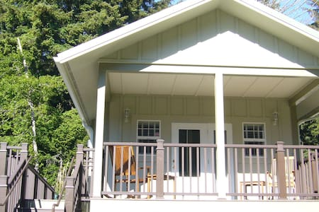 The Orca Suite (ADA) Cottage In The CA Redwoods - 特立尼达岛 - 小木屋