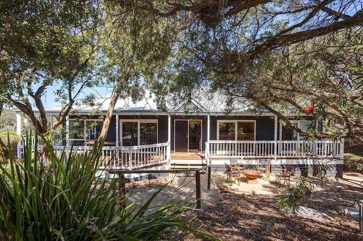 Family/Couple Beach Retreat - Portsea - Huis