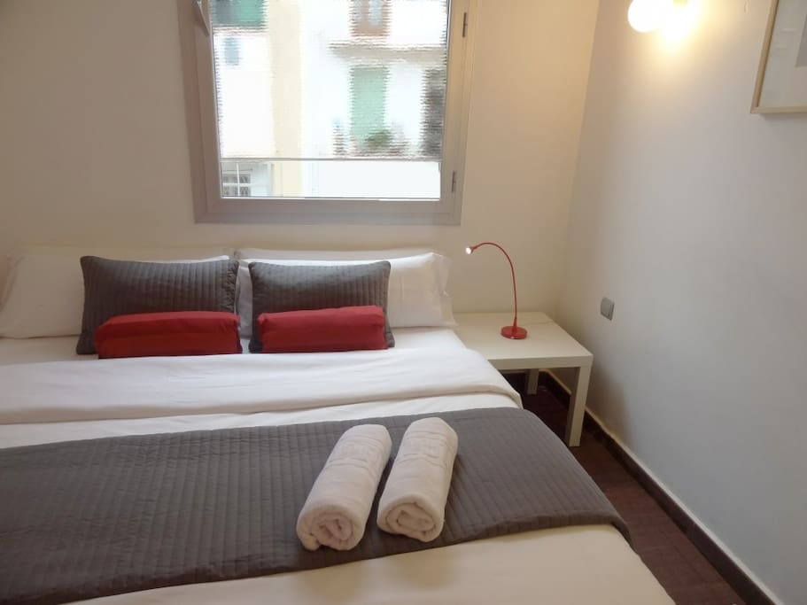 Double or single beds available upon request