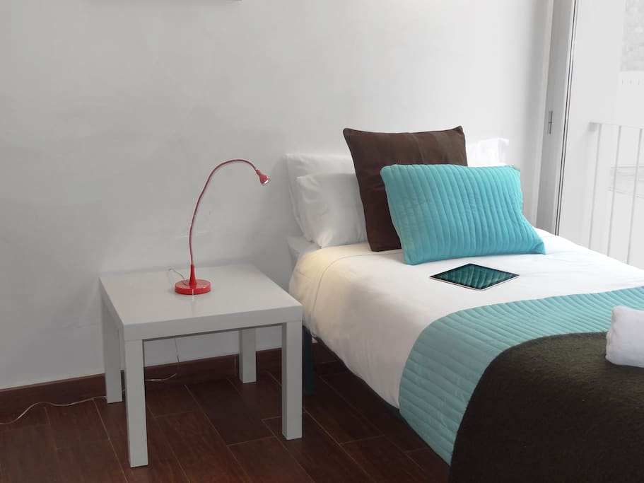2 single or 1 double bed - you choose