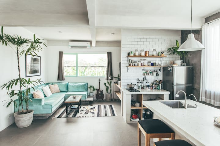 New Modern and Minimalistic Apartment in Canggu