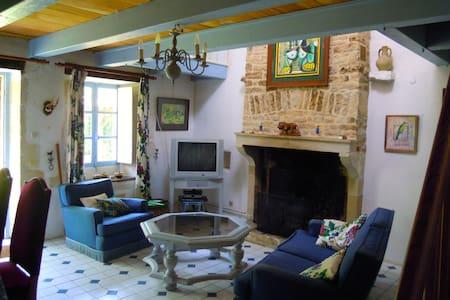 Cosy villa in Poitou Charentes pool - Clussais-la-Pommeraie - House - 2