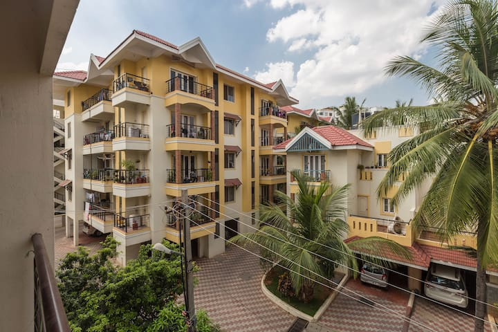 Independant furnished 1 bed flat 202 - Bangalore - Lägenhet