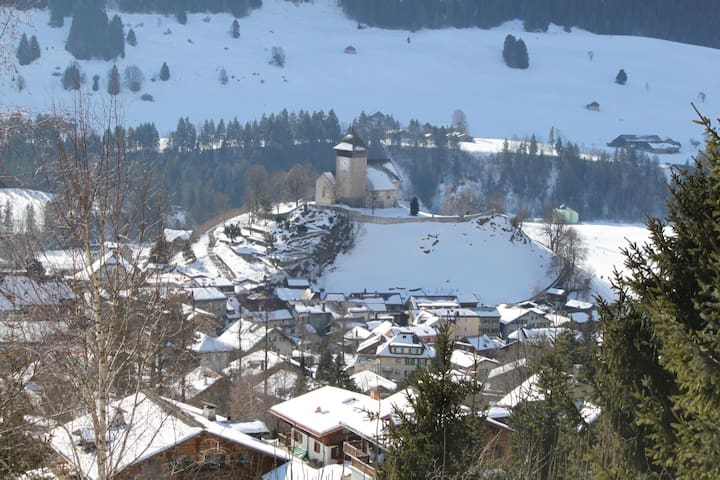 The village near the chalet