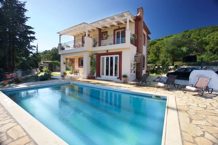 Astonishing Sea View Villa Melisani - Cephalonia