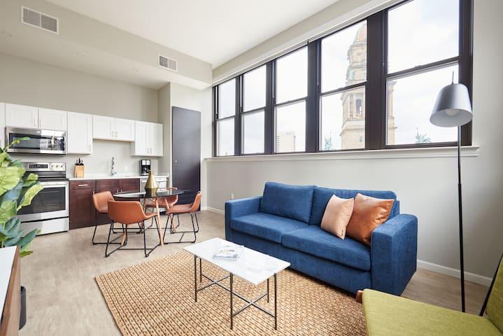 Sonder | The Randolph | Stylish 2BR + Sleeper sofa