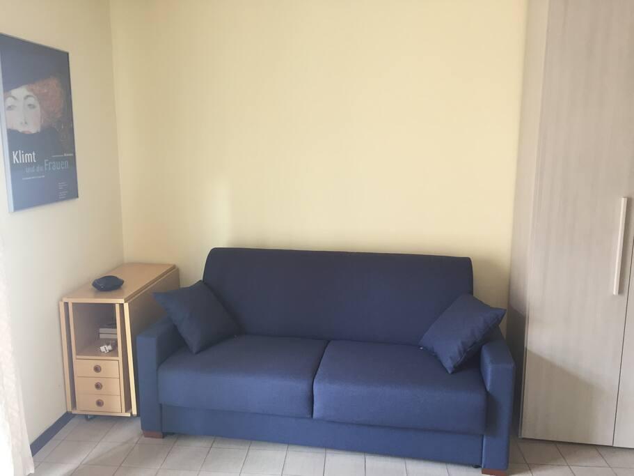 Il divano letto 2 piazze