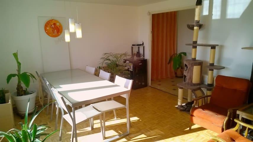 Chambre 2pers, 2.5km de la gare, petit dèj inclus - Bassens - Apartment