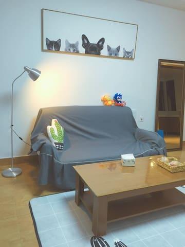 敲温馨无印风两室两厅带游戏机的狗狗家 - Changzhou Shi - Appartement