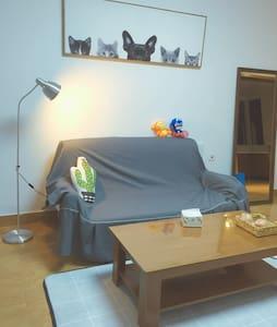 敲温馨无印风两室两厅带游戏机的狗狗家 - Changzhou Shi - Huoneisto