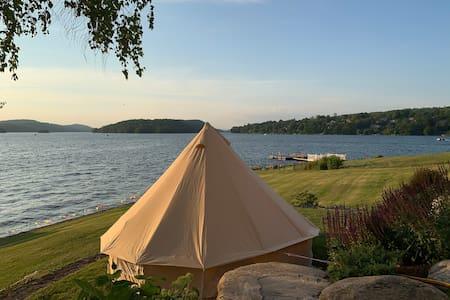 Lakefront Glamping
