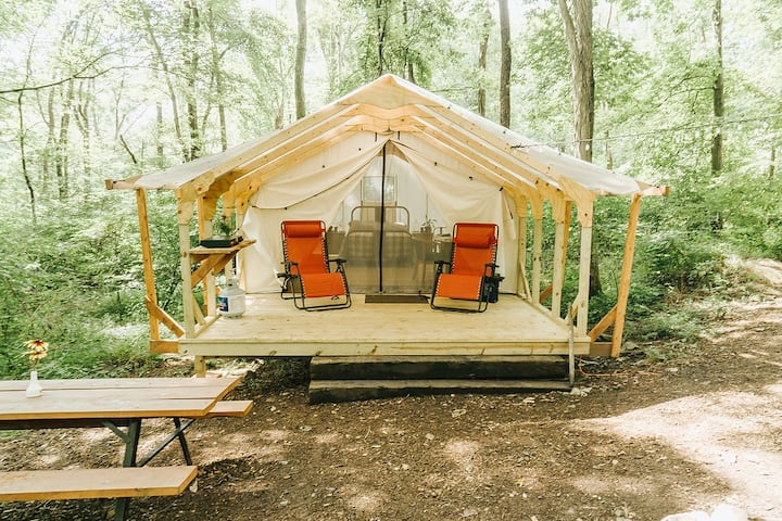 Glamping at Airydale  (near Raystown Lake!)