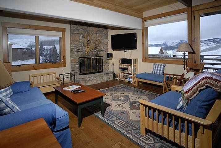 Bitter Root 5 Bedroom Home - Mt. Crested Butte - House