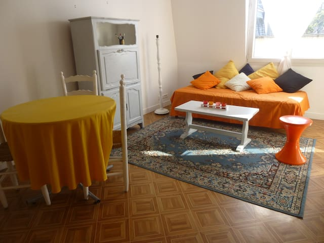 centre ville,T2 grand balcon,garage - Bernay - Квартира