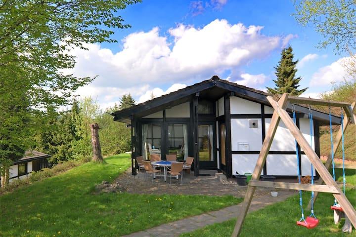 Moderna casa vacanze a Mellinghausen con terrazza