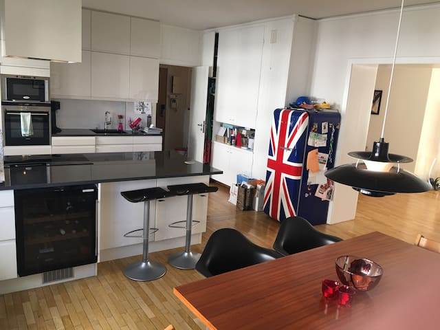 Room in modern flat in urban area - Oslo - Condominium