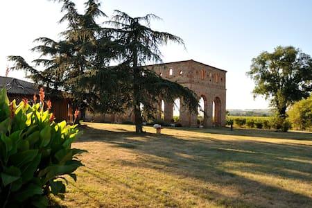 Eco gîtes de charme près de Toulouse - Cintegabelle - Nature lodge