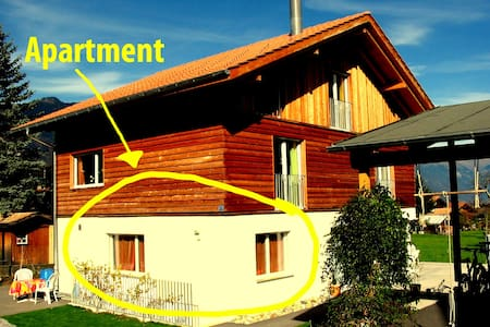 Apartment, 3 km from Interlaken - Leilighet