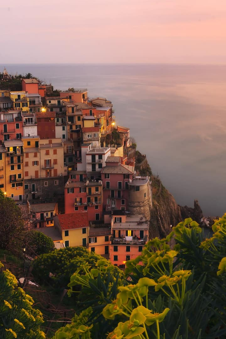 Manarola in spring is beautiful!