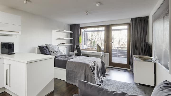 Gemütliche, zentrale, ruhige Ein-Zimmer-Wohnung