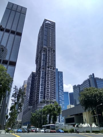 highrise stay in centre business district