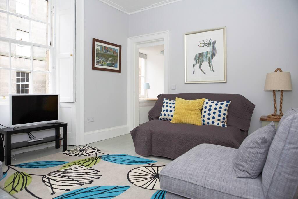 Sassy Stockbridge Apt With Parking Flats For Rent In Edinburgh United Kingdom