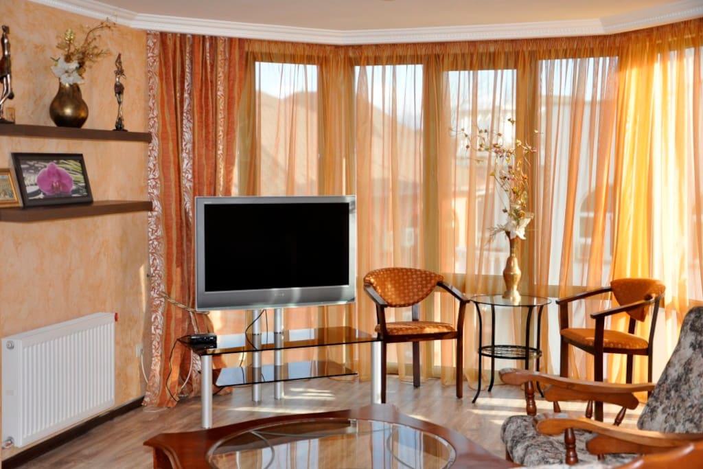 гостиная зона отдыха