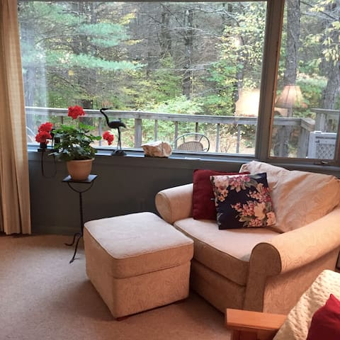 Lovely apt in mountains of Maine - Bethel - Appartement