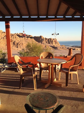 House close to town /private beach - San Felipe - Bungalow