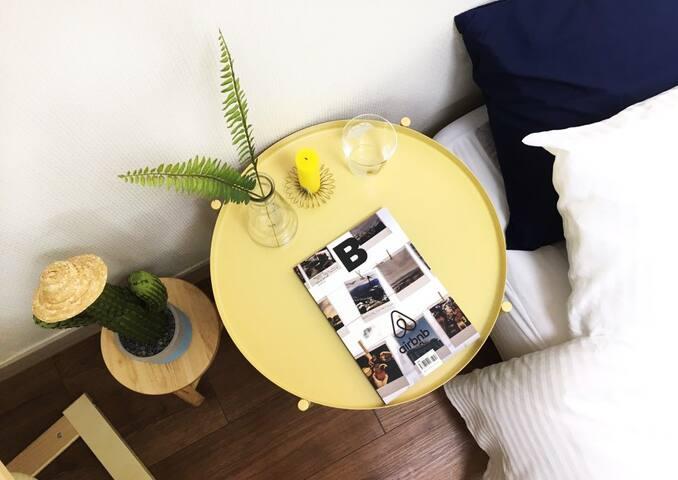 *Free wi-fi Egg* Stay in cozy azit in Seoul!