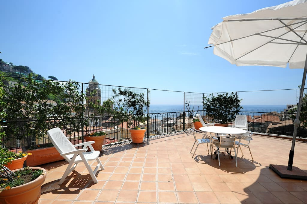 Amalfi o sole mio amalfi coast apartments for rent in for Apartments amalfi