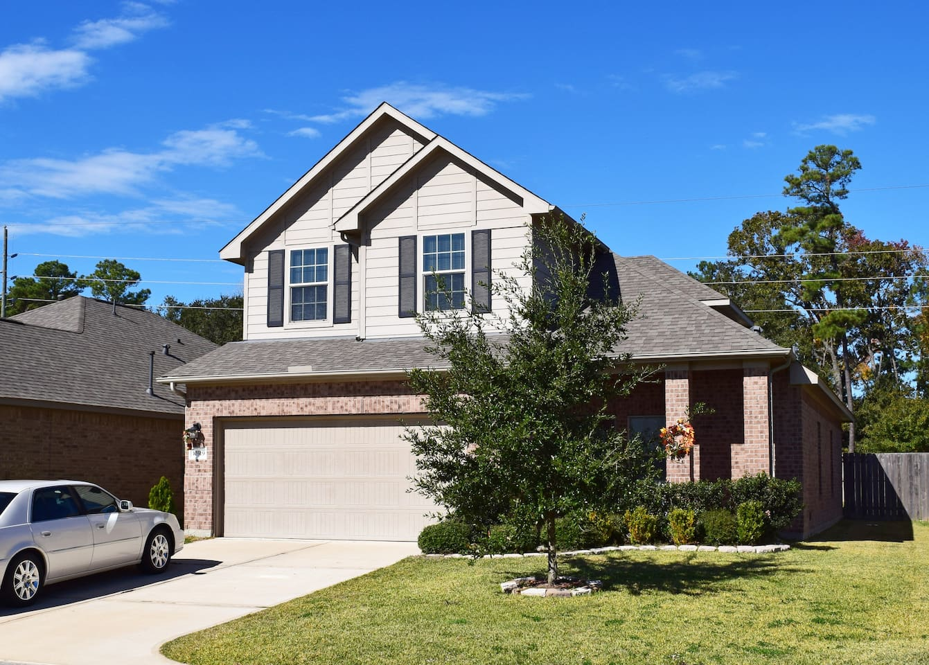 My home is a two story home with plenty of space to relax and enjoy!