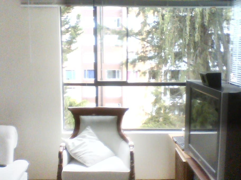 Vista exterior desde Sala