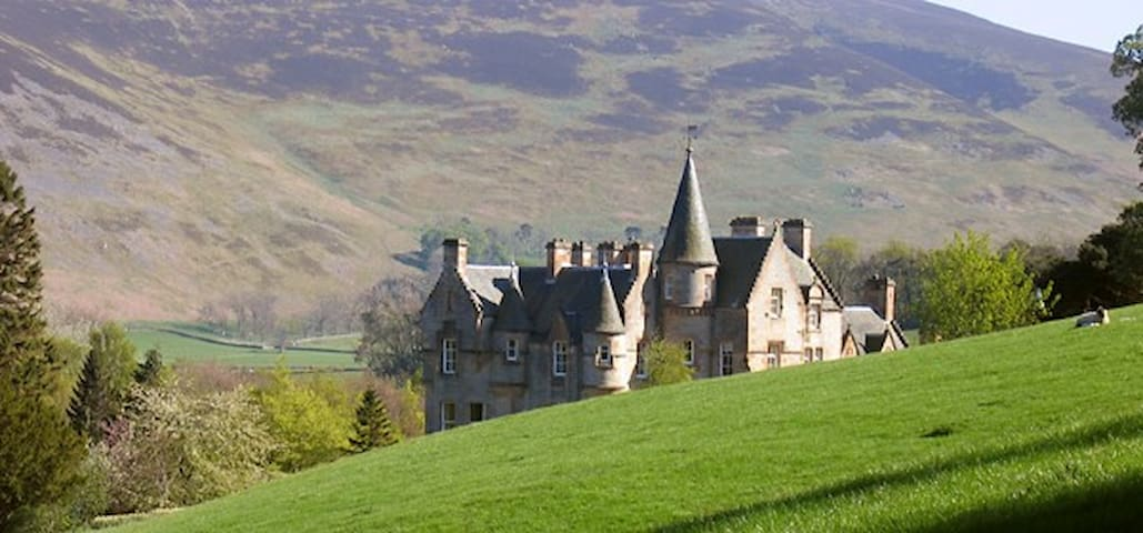 Glenternie House Double Bed - Peebles - Bed & Breakfast