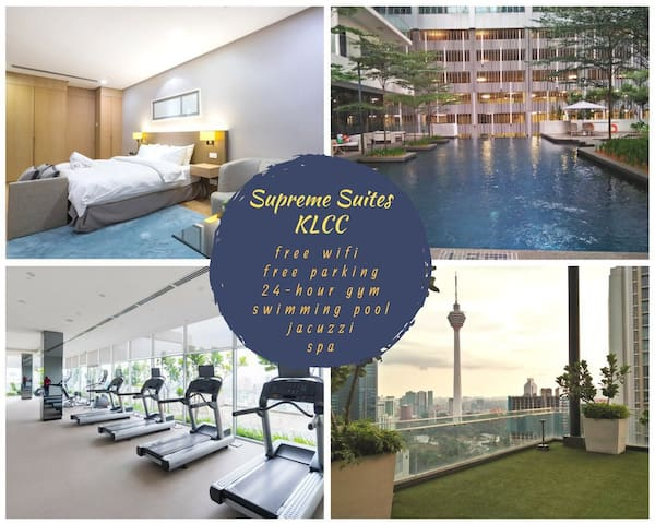 Supreme Suites KLCC@SKY GYM ( CITY CENTRE VIEW )