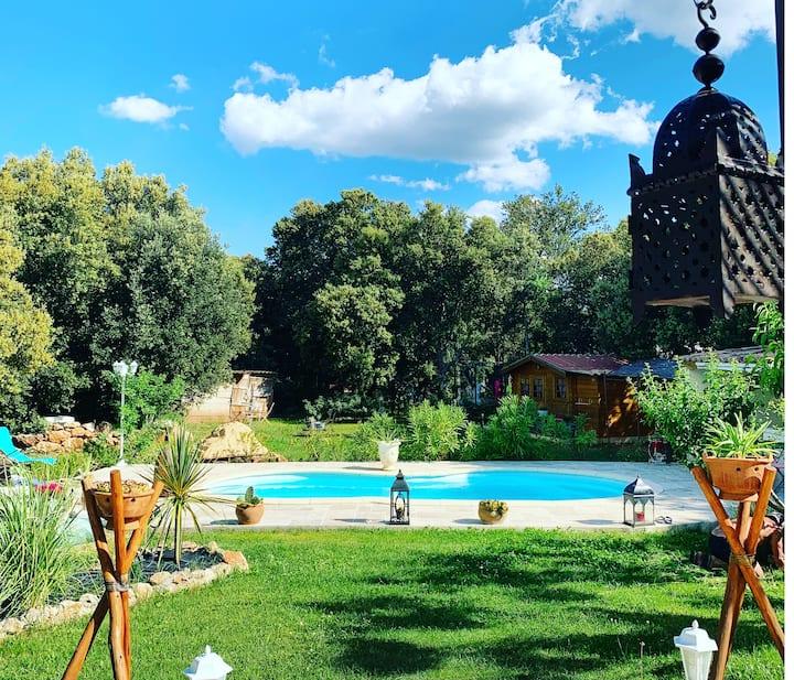 La Villa Camila. Les Gorges du Verdon en grand.