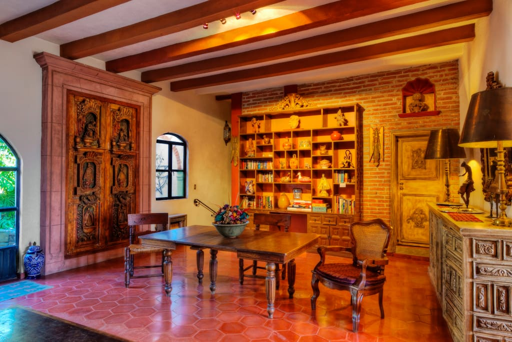 Living room of Casa Christina