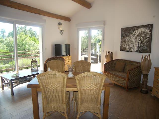 Maison de charme Cévennes au calme - Saint-Étienne-Vallée-Française - Villa