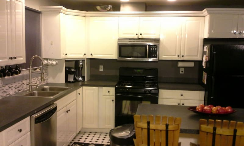 Large Contemporary Apt near Lake - Ypsilanti - Appartement