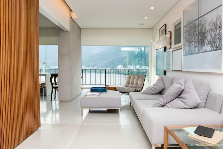 Luxury & Contemporary Lake Front - Rio de Janeiro - Leilighet