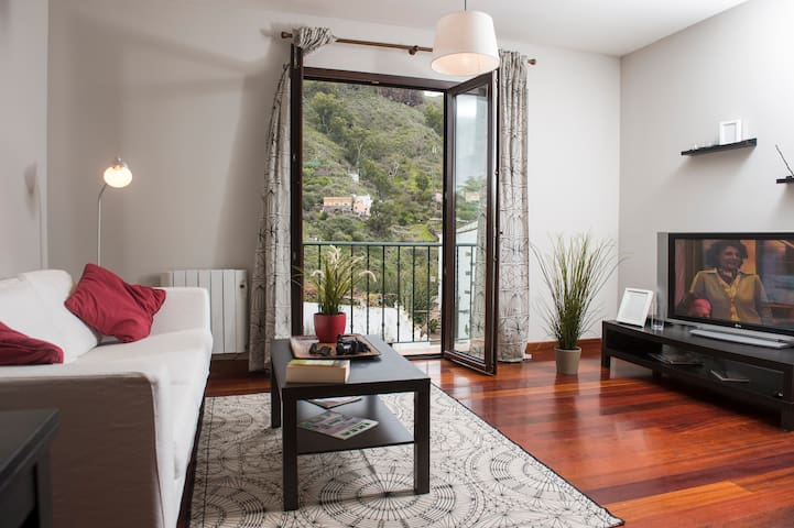 Nice, warm flat in San Mateo - Vega de San Mateo - Appartement