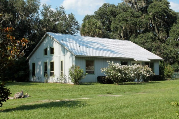 Beautiful Cottage on Horse Farm - Micanopy - Casa