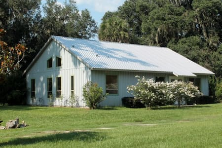 Beautiful Cottage on Horse Farm - Micanopy