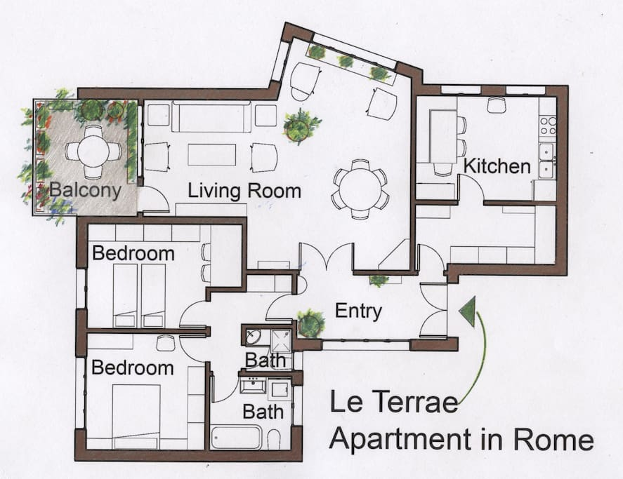 Very spacious and well appointed: A comfortable retreat from the busy city