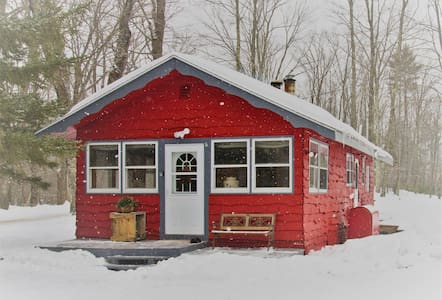 The Cozy Little Red Cabin